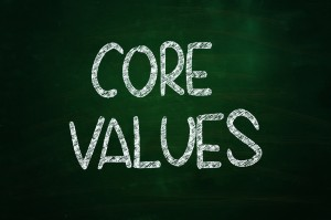 Because of Belief I have Unchanging Core Values!
